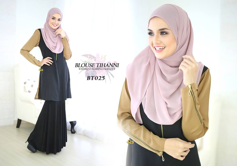 BLOUSE SATIN TIHANNI III BT025