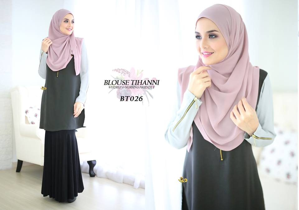 BLOUSE SATIN TIHANNI III BT026