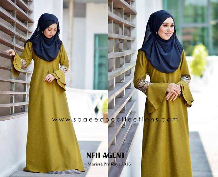 DRESS RAYA 2016 MARISSA SATIN GOLD