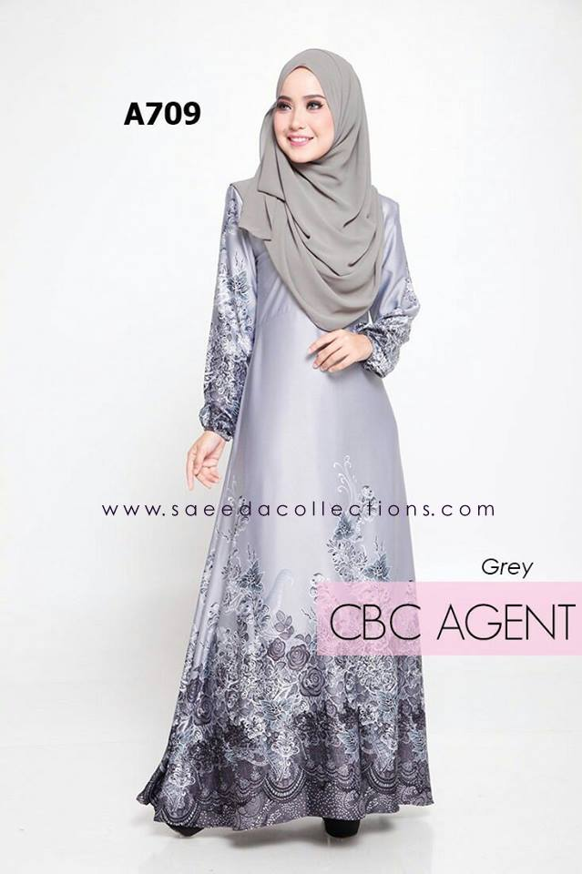 DRESS RAYA MUSLIMAH ADELIA A709