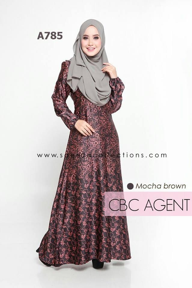 DRESS RAYA MUSLIMAH ADELIA A785