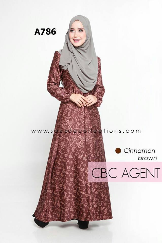 DRESS RAYA MUSLIMAH ADELIA A786