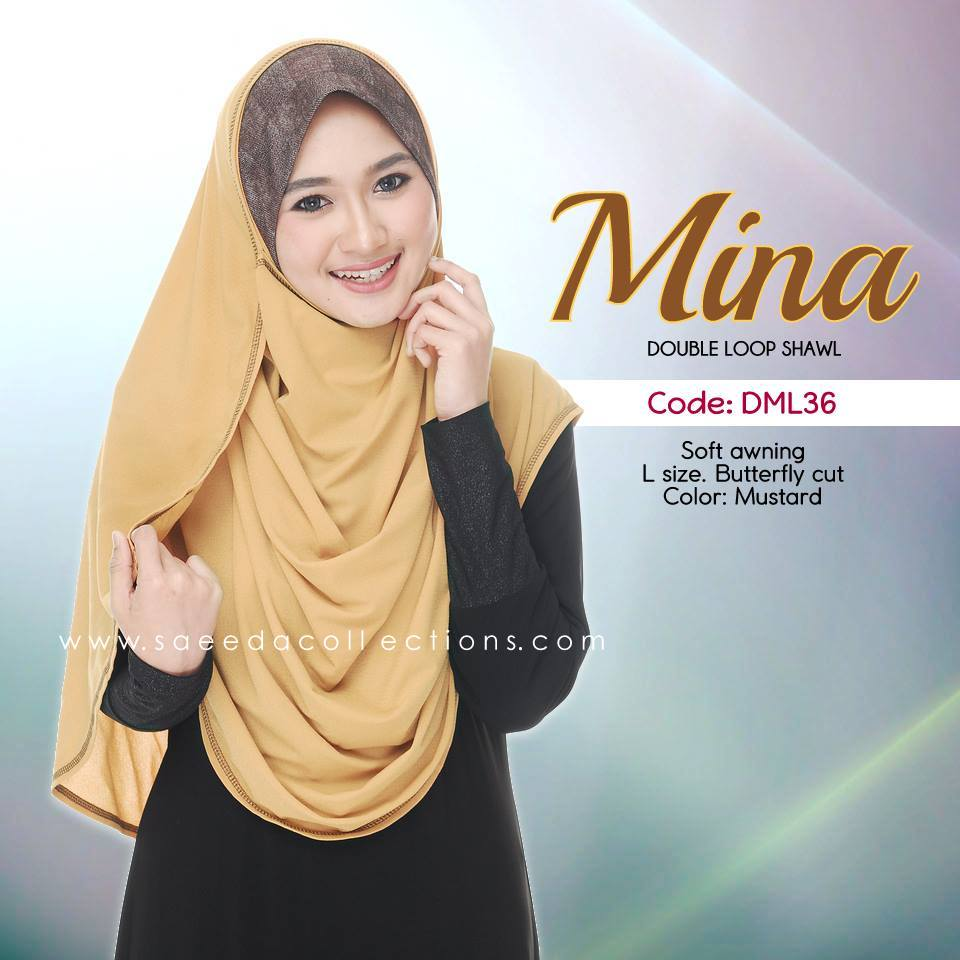 SHAWL DENIM COTTON SAIZ L MINA DML35