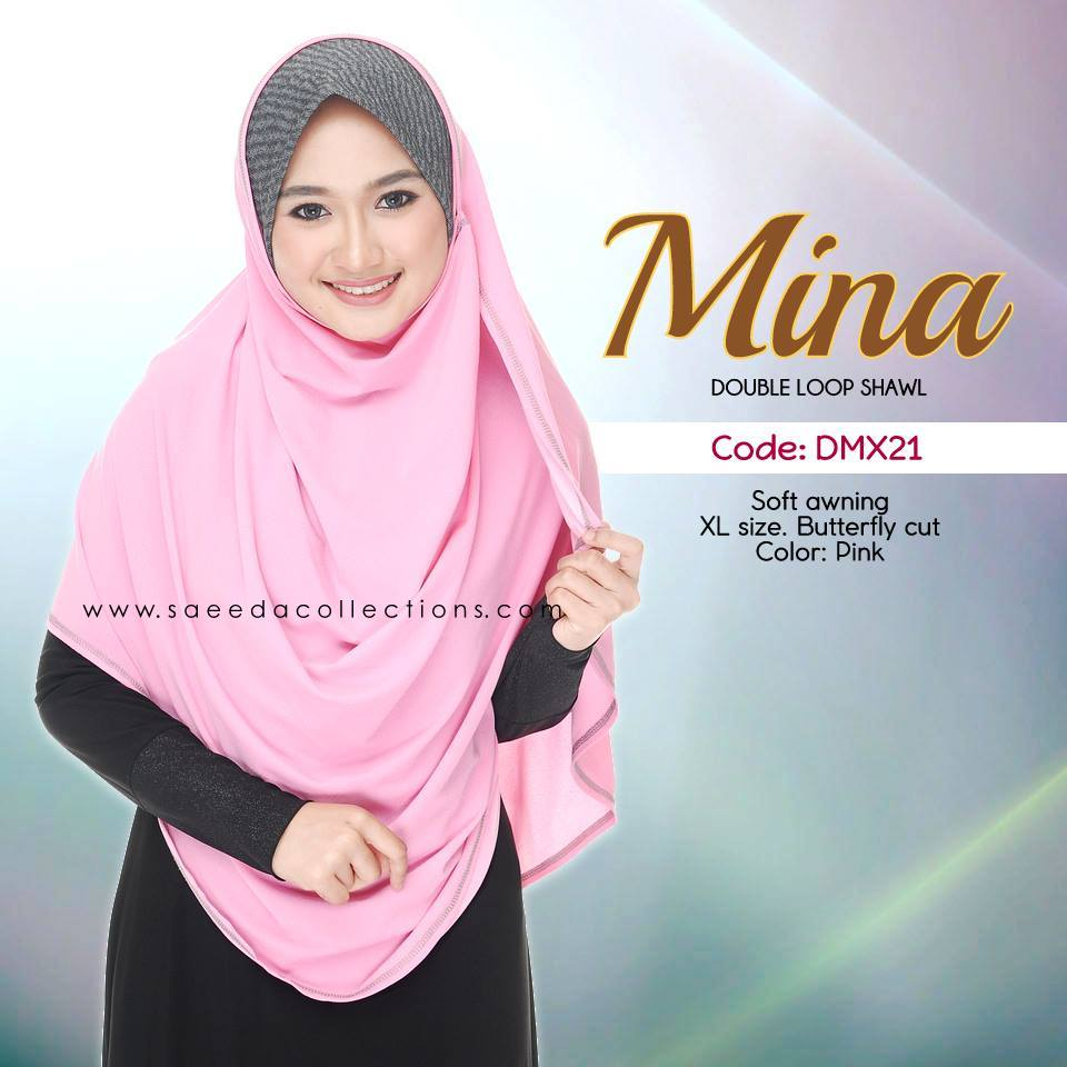 SHAWL DENIM COTTON SAIZ XL MINA DMX21