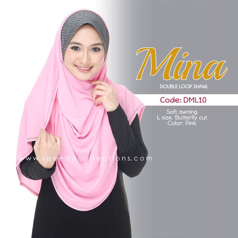 SHAWL DENIM DOUBLE LOOP MINA DML10