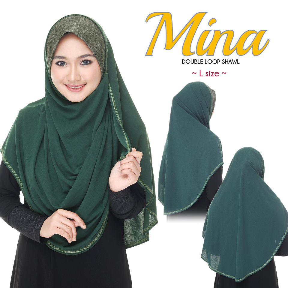 SHAWL DENIM DOUBLE LOOP MINA FULL