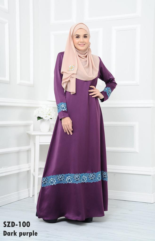 DRESS RAYA MUSLIMAH 2016 ZARRA SZD100 A