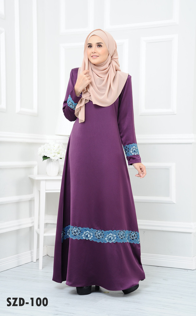 DRESS RAYA MUSLIMAH 2016 ZARRA SZD100 B