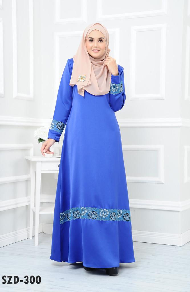 DRESS RAYA MUSLIMAH 2016 ZARRA SZD300 A