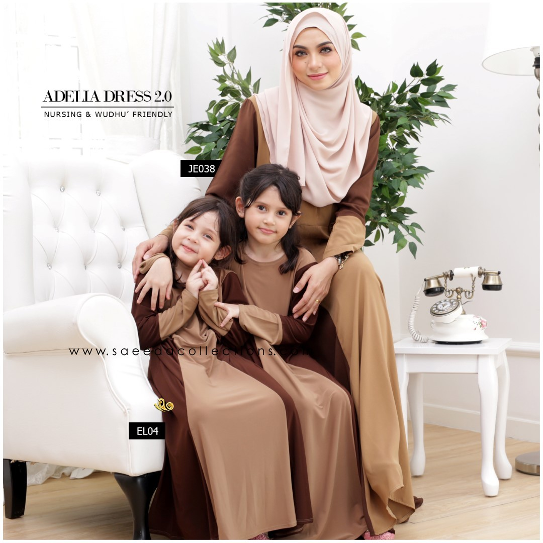 DRESS RAYA SEDONDON 2016 ADELIA JE038 C