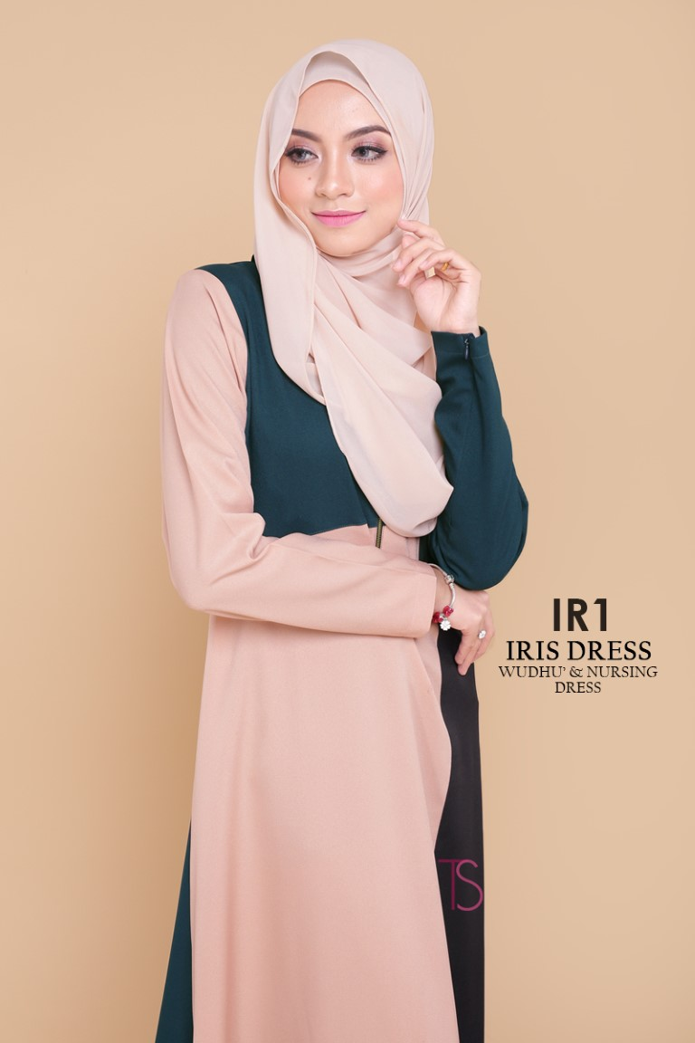 DRESS RAYA SEDONDON IRIS PLOY CREPE IR1 B