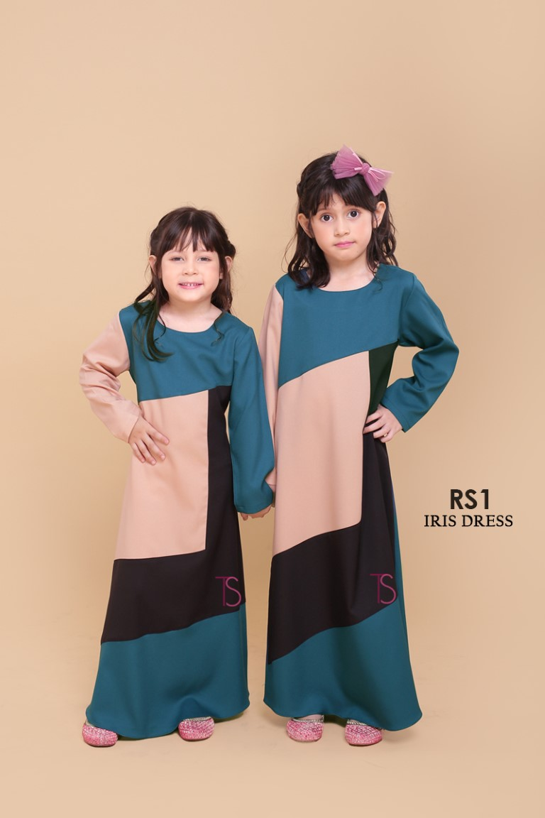 DRESS RAYA SEDONDON IRIS PLOY CREPE IR1 C