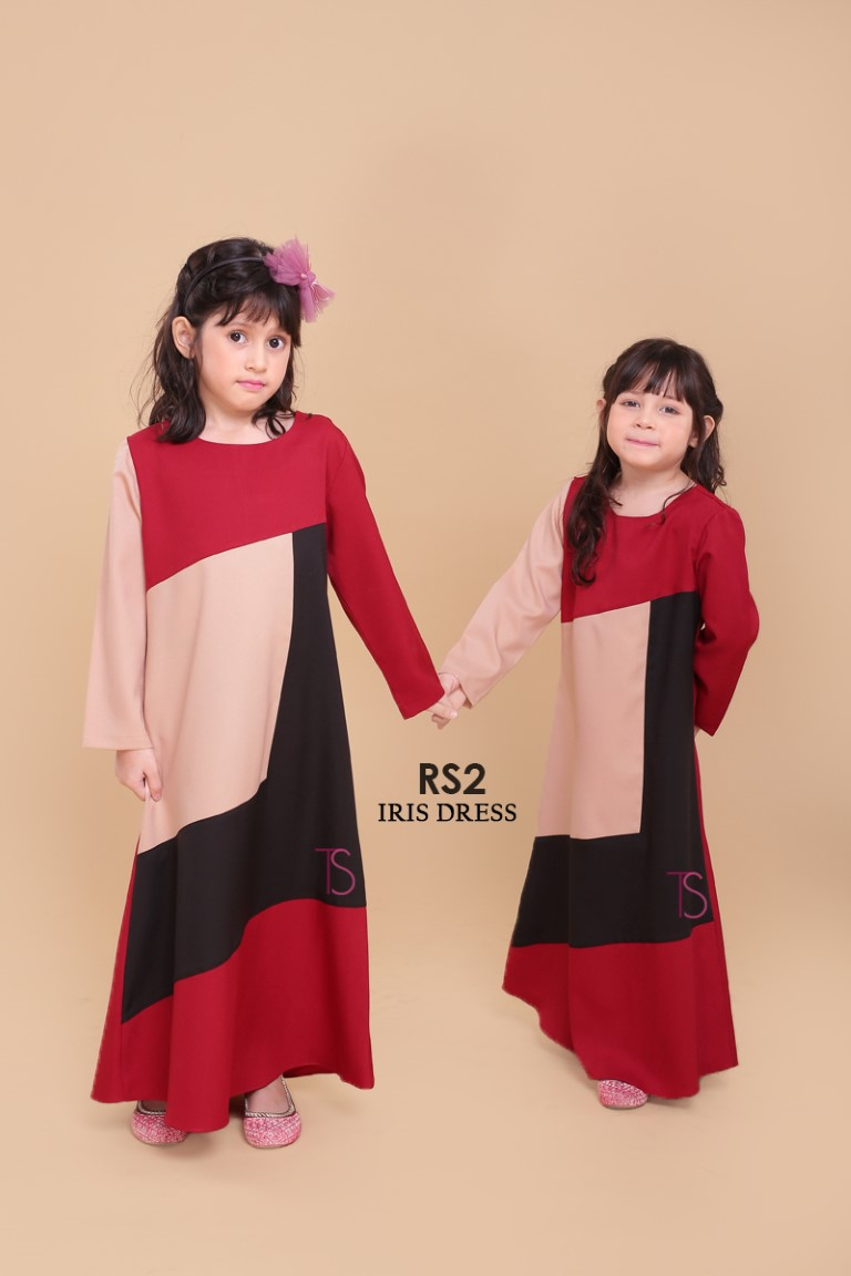 DRESS RAYA SEDONDON IRIS PLOY CREPE IR2 C