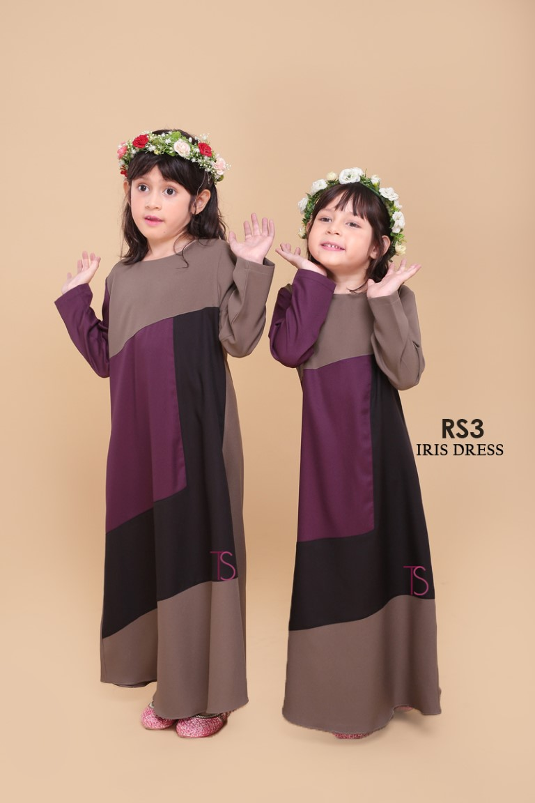 DRESS RAYA SEDONDON IRIS PLOY CREPE IR3 C