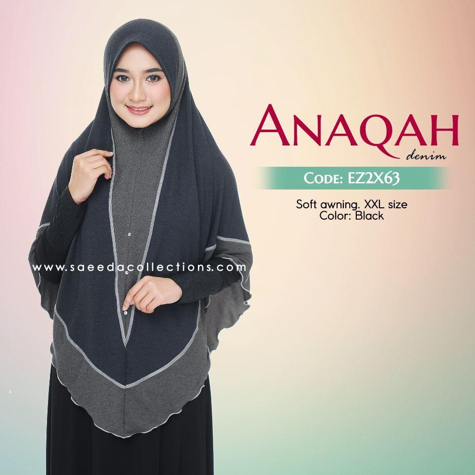 TUDUNG LABUH XXL DENIM ANAQAH EX2X63
