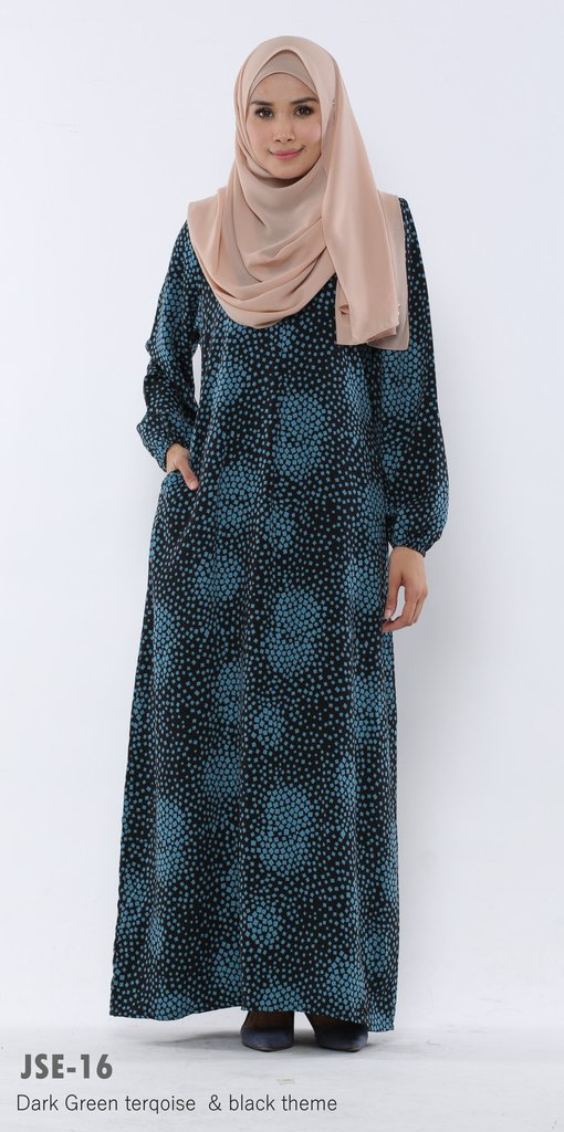 JUBAH RAYA 2016 VISCOSE SWEET ELEANOR JSE16A