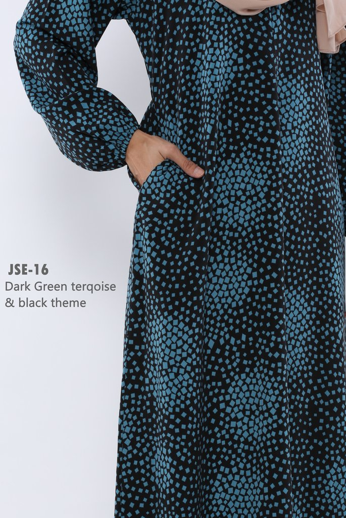 JUBAH RAYA 2016 VISCOSE SWEET ELEANOR JSE16B