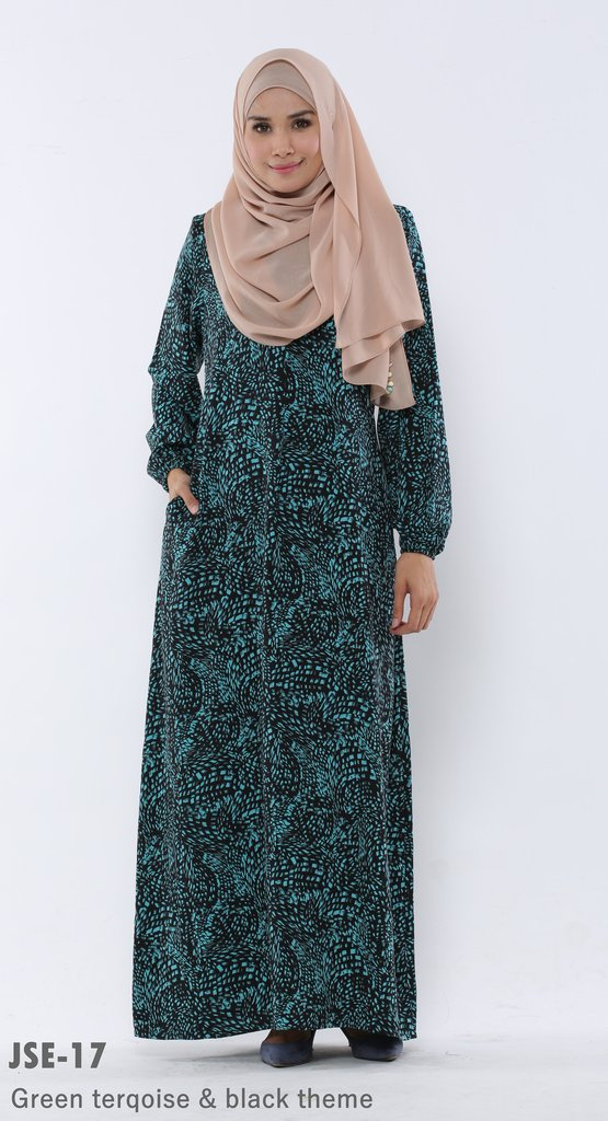 JUBAH RAYA 2016 VISCOSE SWEET ELEANOR JSE17A