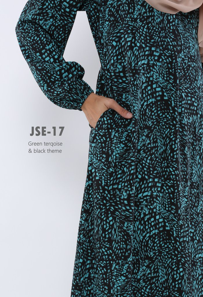JUBAH RAYA 2016 VISCOSE SWEET ELEANOR JSE17B