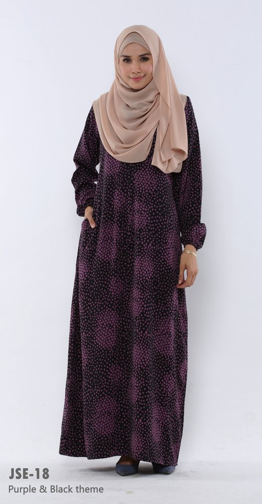 JUBAH RAYA 2016 VISCOSE SWEET ELEANOR JSE18A
