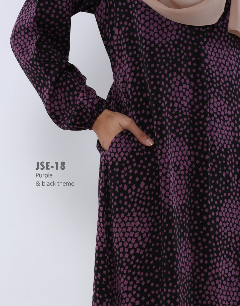 JUBAH RAYA 2016 VISCOSE SWEET ELEANOR JSE18B