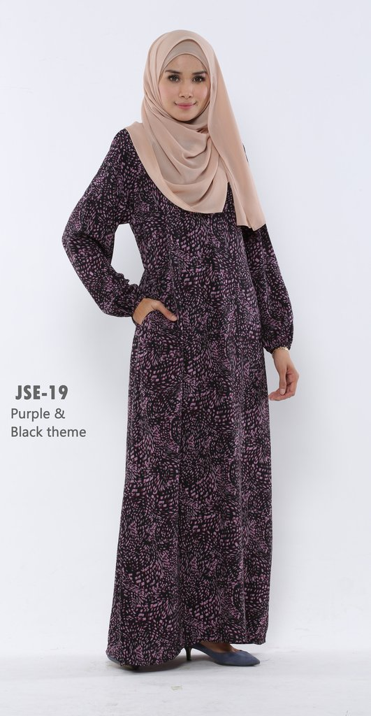 JUBAH RAYA 2016 VISCOSE SWEET ELEANOR JSE19A
