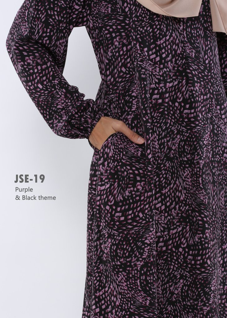 JUBAH RAYA 2016 VISCOSE SWEET ELEANOR JSE19B