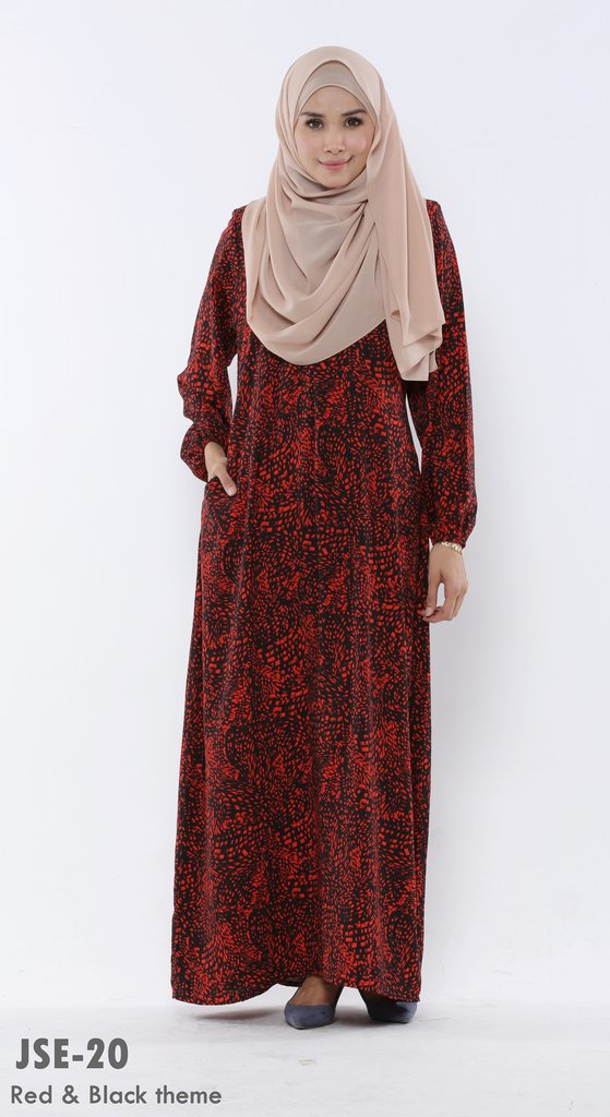 JUBAH RAYA 2016 VISCOSE SWEET ELEANOR JSE20A