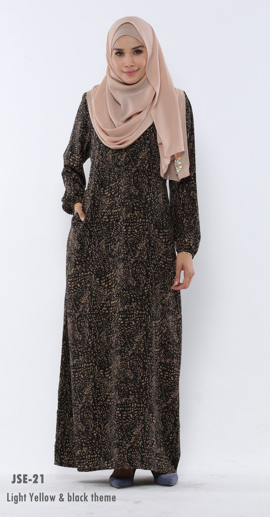 JUBAH RAYA 2016 VISCOSE SWEET ELEANOR JSE21A
