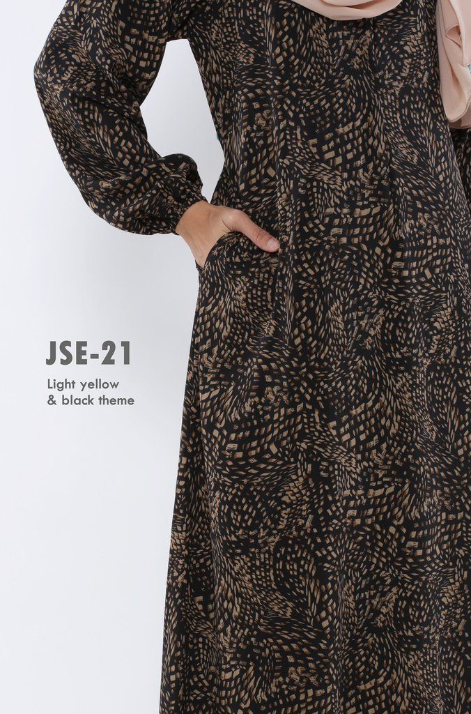 JUBAH RAYA 2016 VISCOSE SWEET ELEANOR JSE21B