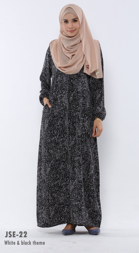 JUBAH RAYA 2016 VISCOSE SWEET ELEANOR JSE22A