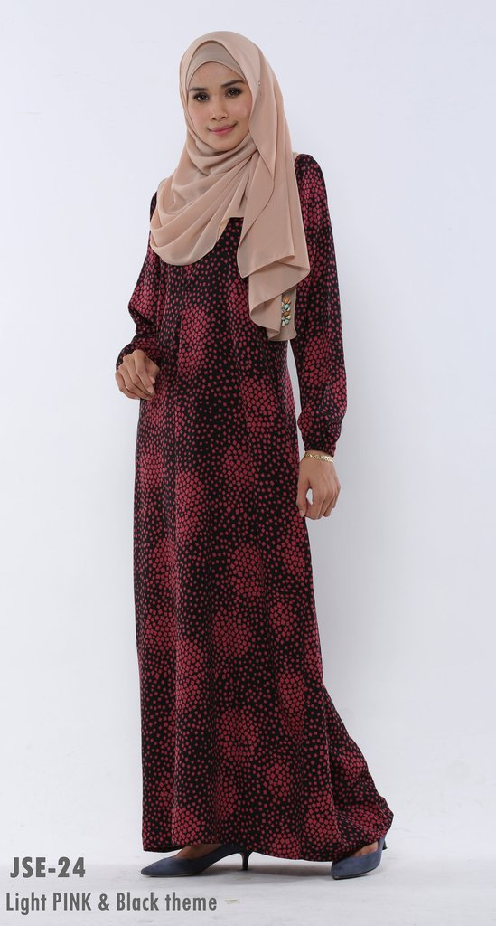 JUBAH RAYA 2016 VISCOSE SWEET ELEANOR JSE24A