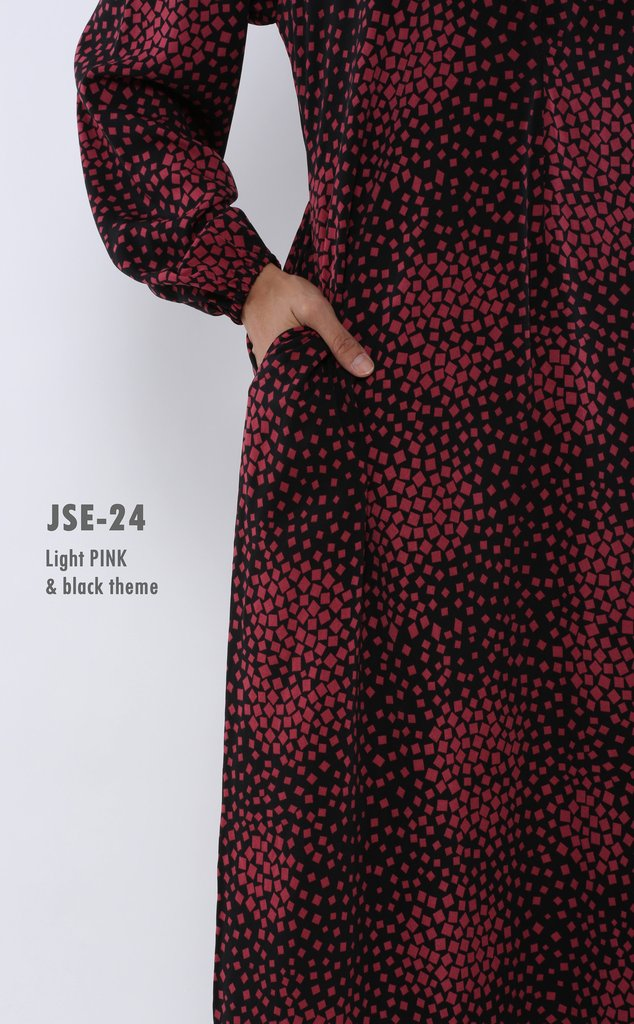 JUBAH RAYA 2016 VISCOSE SWEET ELEANOR JSE24B