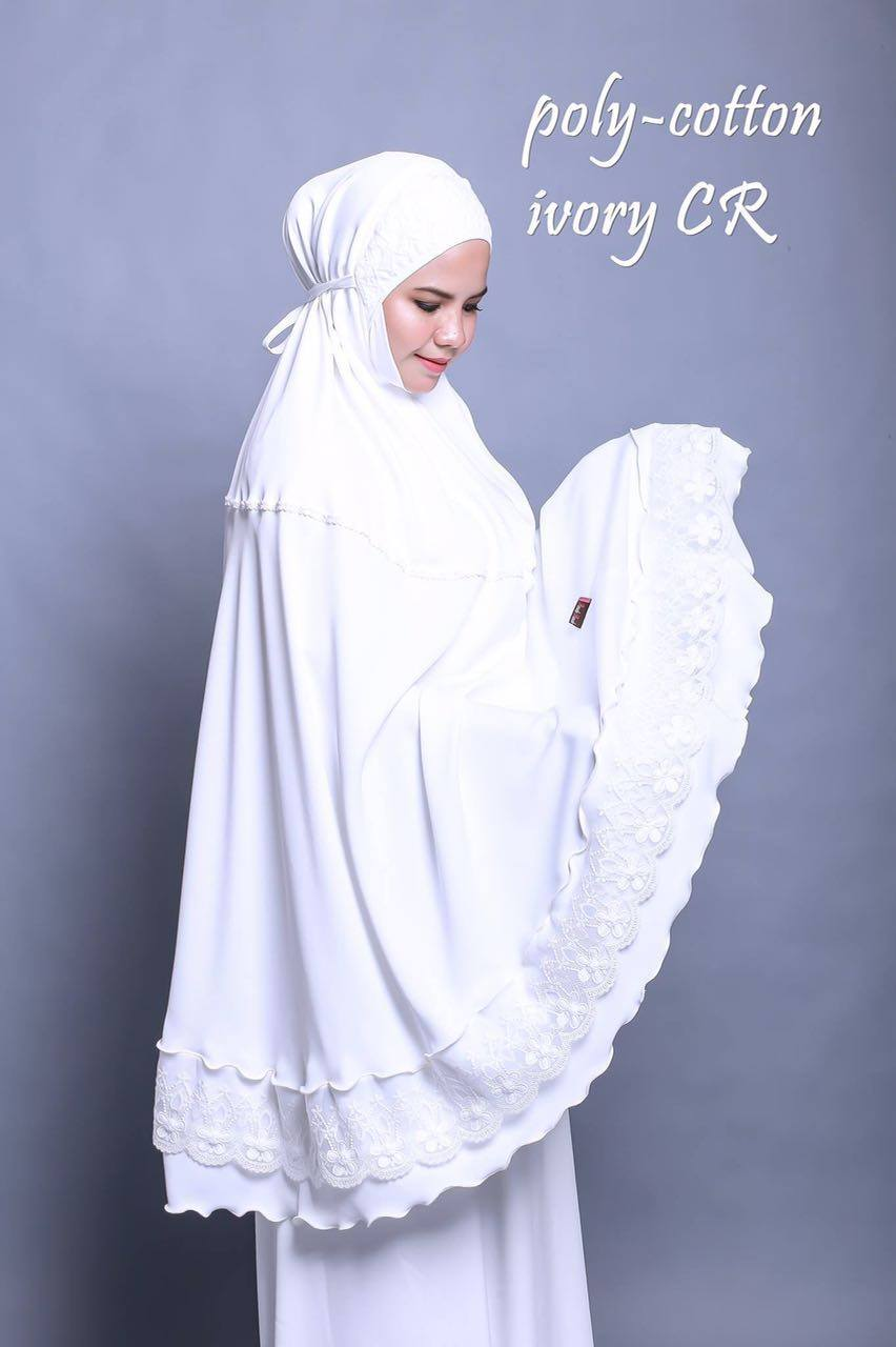 TELEKUNG RENDA RAYA POLY COTTON IVORY CR