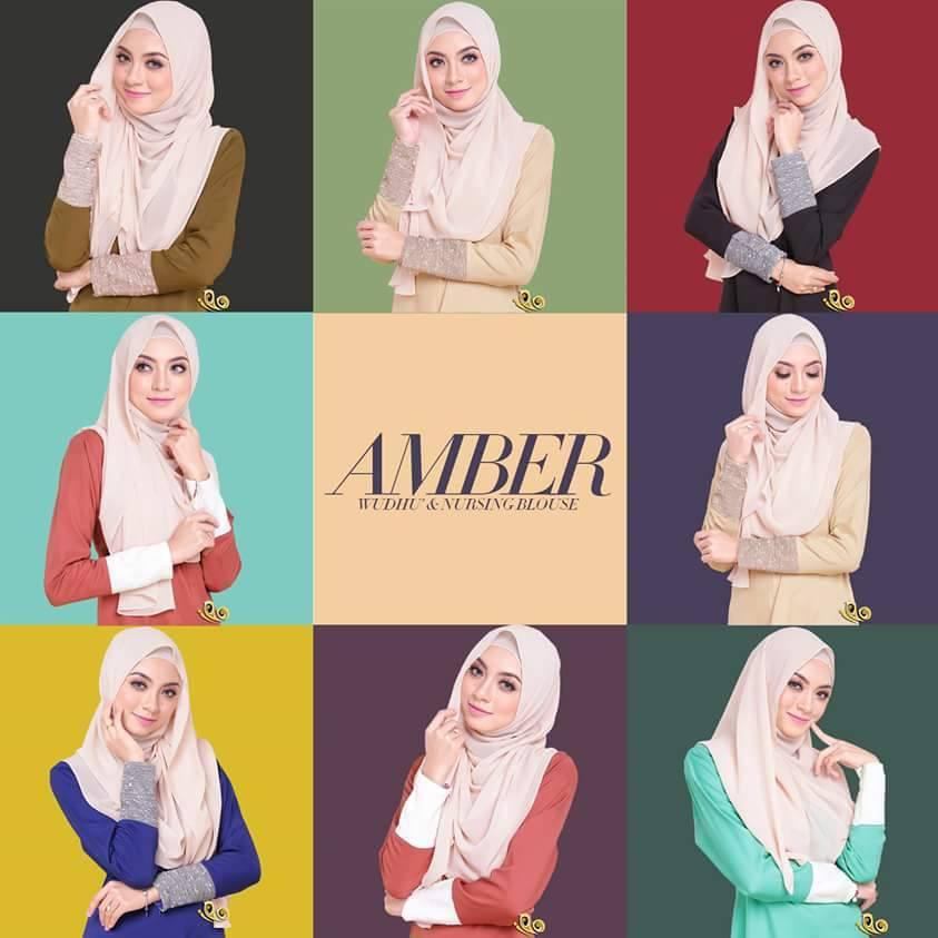 BLOUSE MUSLIMAH AMBER 2