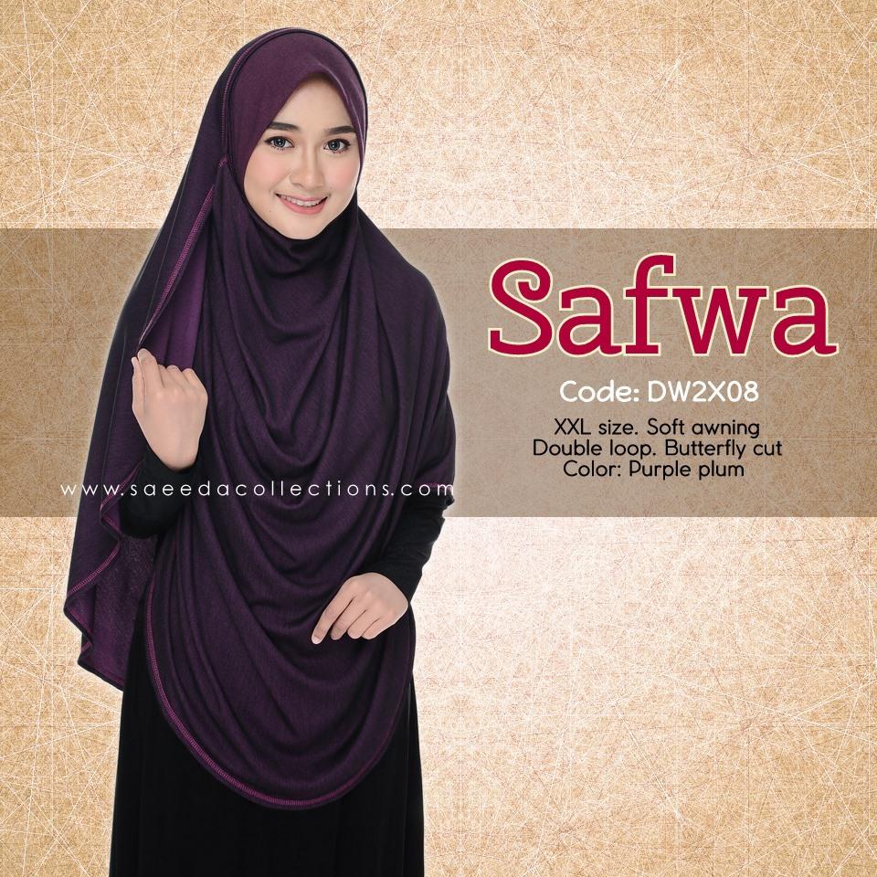 DOUBLE LOOP SHAWL DENIM LABUH XXL SAFWA DW2X08