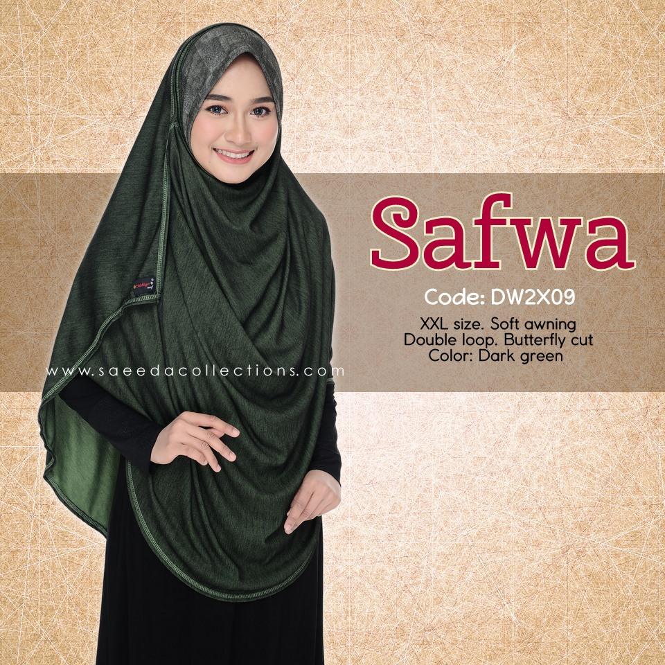 DOUBLE LOOP SHAWL DENIM LABUH XXL SAFWA DW2X09