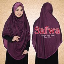 DOUBLE LOOP SHAWL DENIM LABUH XXL SAFWA FULL