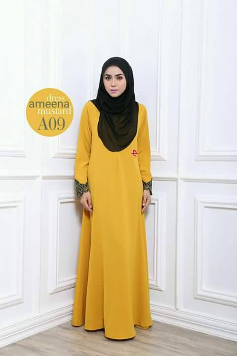 DRESS AMEENA II A09