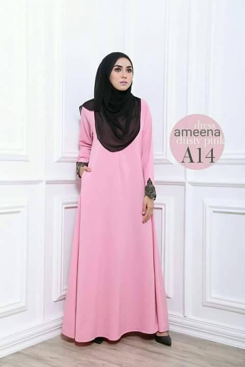 DRESS AMEENA II A14