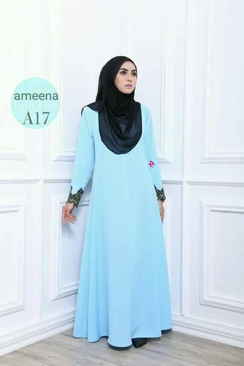 DRESS AMEENA II A17