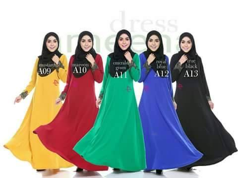DRESS AMEENA II FULL A