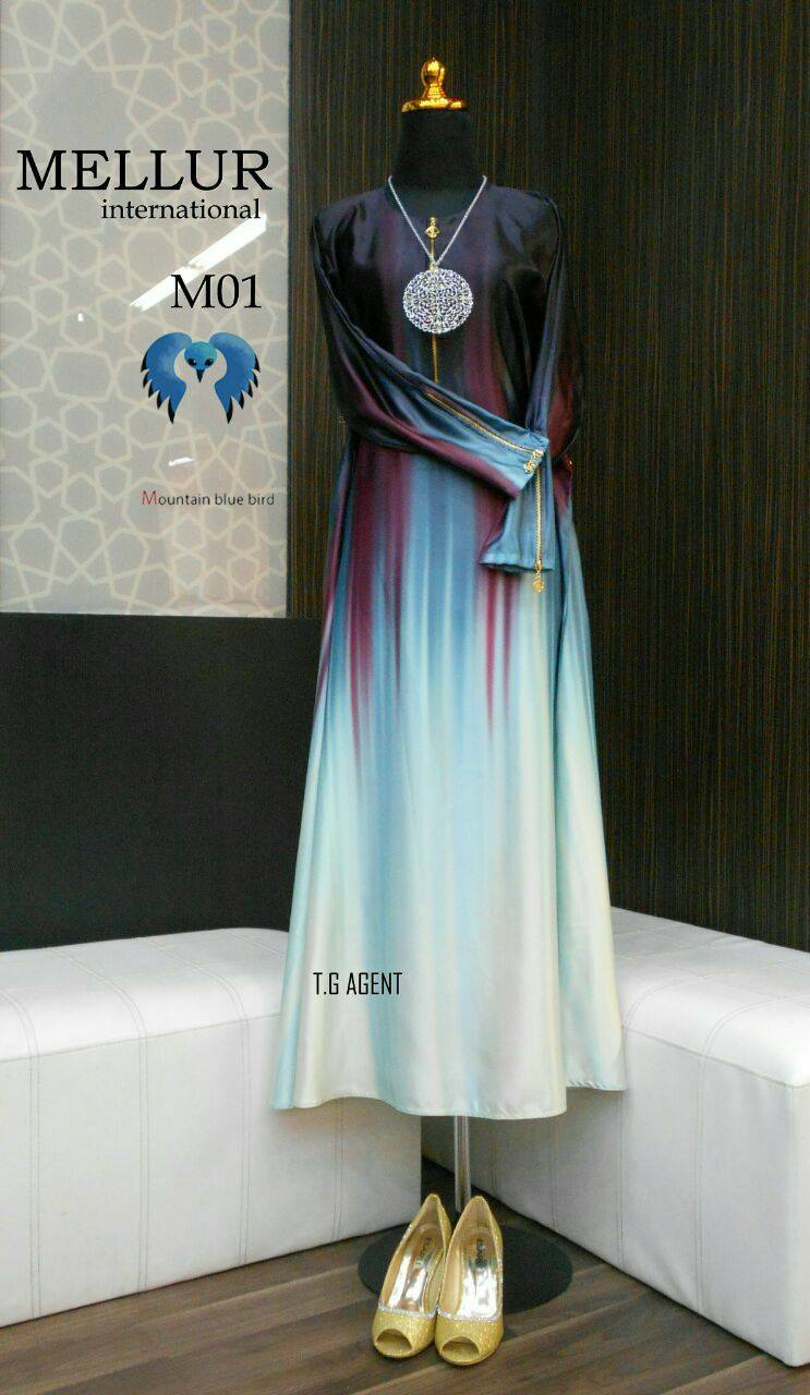 DRESS MELLUR VALENTONO SOLUNA M01