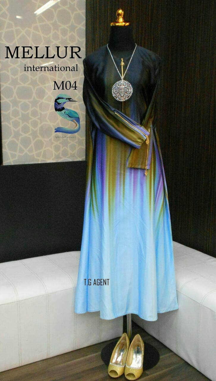 DRESS MELLUR VALENTONO SOLUNA M04