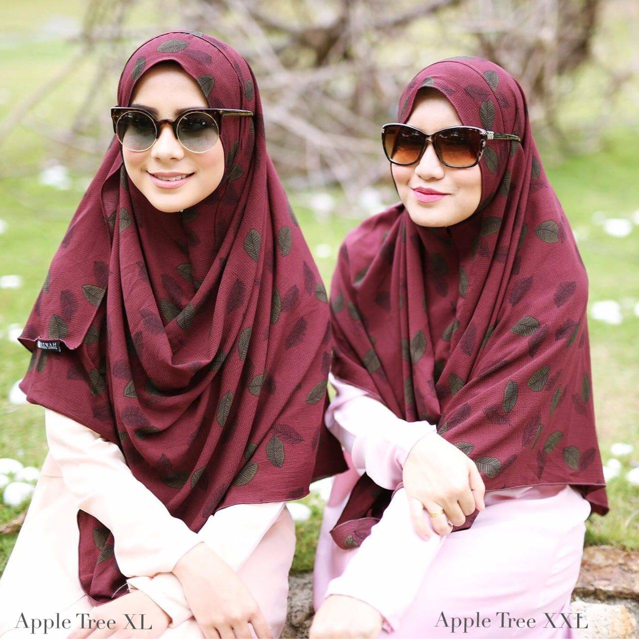 INSTANT SHAWL HUSNA LABUH APPLE TREE