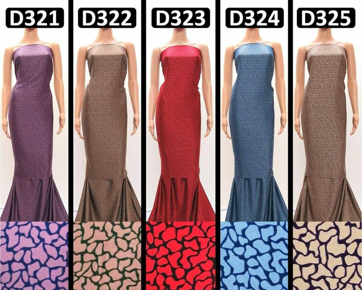 KAIN PASANG DUBAI SILK D321 D325