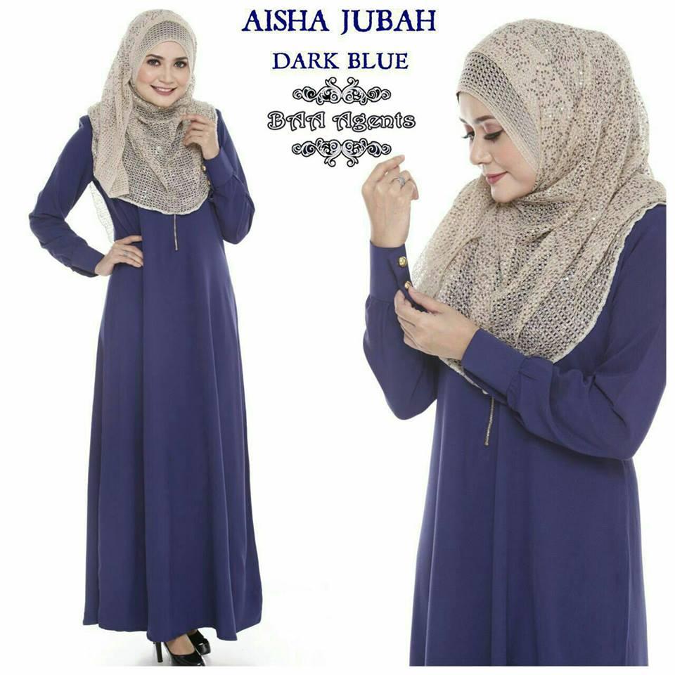 aisha-jubah-dark-blie