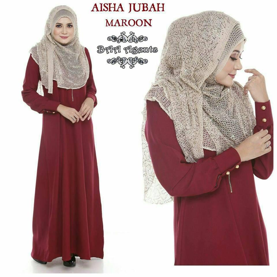 aisha-jubah-maroon