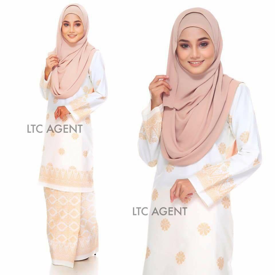baju-kurung-moden-songket-bunga-tabur-off-white