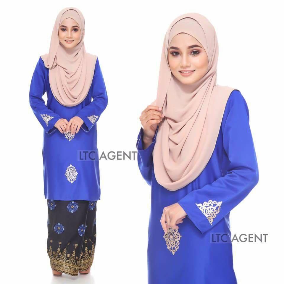 baju-kurung-moden-songket-dokoh-royal-blue-b
